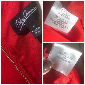 Oleg Cassini Dresses - Oleg Cassini - Ruby Red Dress